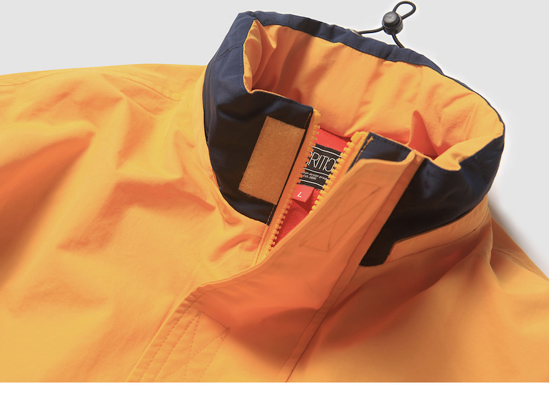크리틱(CRITIC) SAILING ANORAK JACKET(YELLOW)_CTOEAJP01UY1