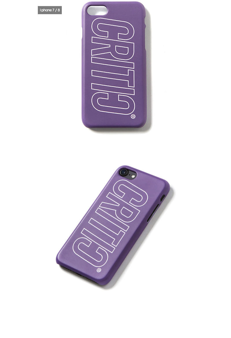 크리틱(CRITIC) ITALIC LOGO MOBILE CASE(VIOLET)_CTOGPHC01UV1
