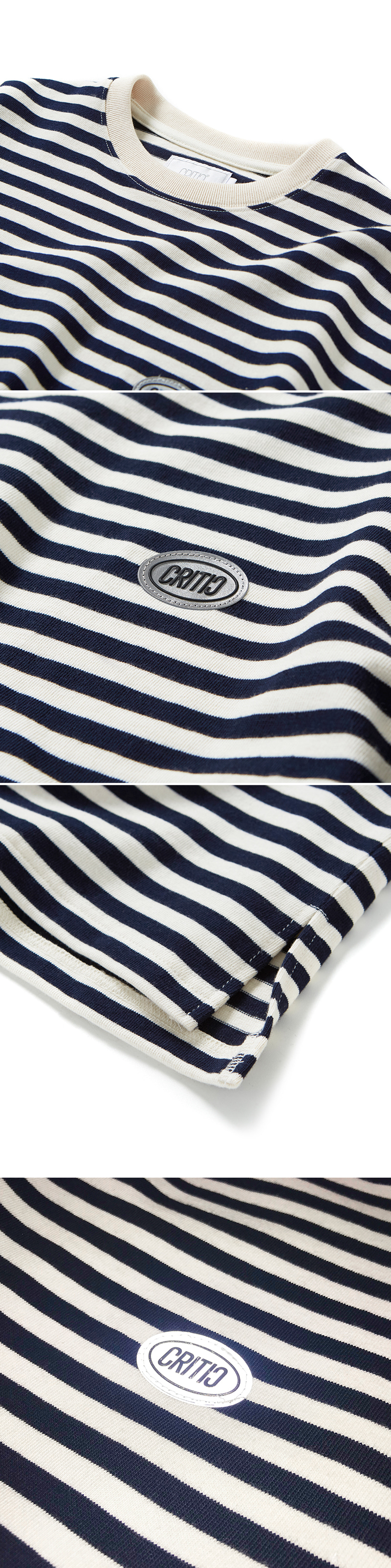 크리틱(CRITIC) STRIPE LONG SLEEVE T-SHIRT(NAVY)_CTOGPRL09UN0