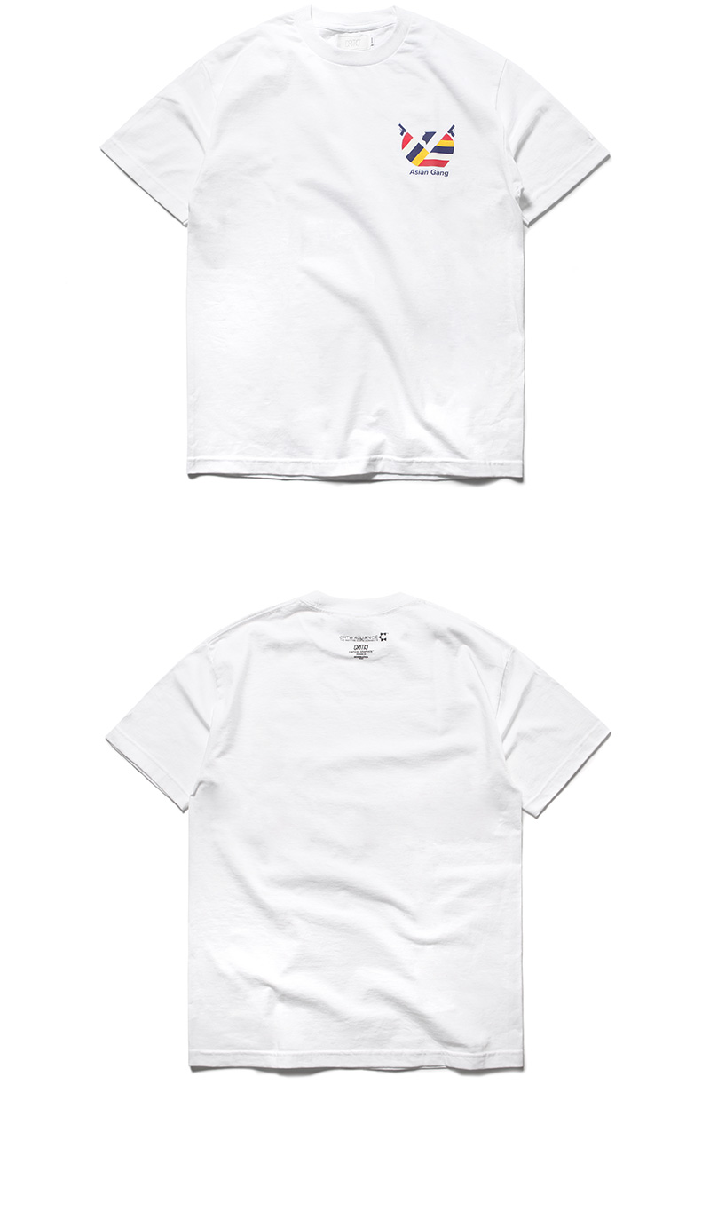 크리틱(CRITIC) ASIAN GANG T-SHIRT(WHITE)_CTOGURS41UC2