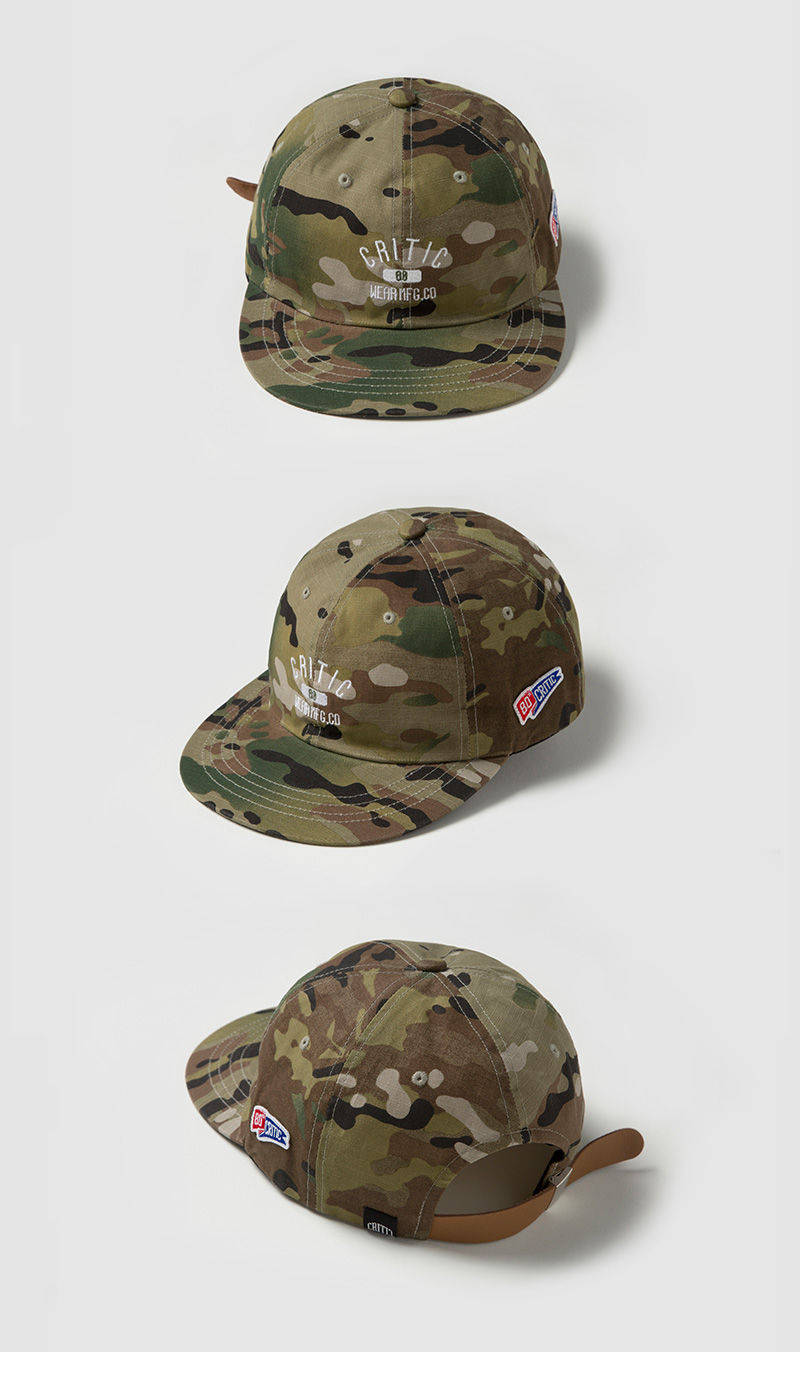 크리틱(CRITIC) MFG ARCH LOGO 6P BALL CAP (KHAKI)_CMOEUHW02UK1
