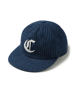 OLD ENGLISH 6P BALL CAP (BLUE)_CMOEUHW03UB1