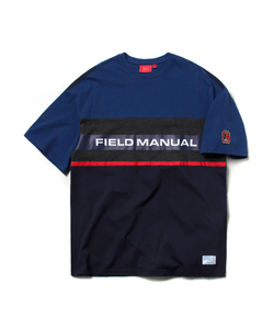 FM COLOR BLOCK TEE (BLUE)_CTOEURS09UB2