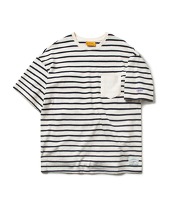 STRIPE POCKET TEE (WHITE)_CMOEURS46UC2