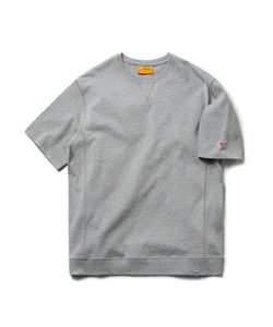 COVER STITCH TEE (M/GRAY)_CMOEURS35UC4