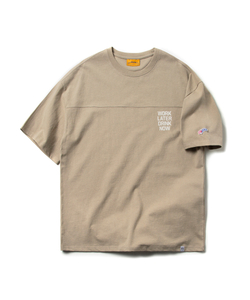 WORK LATER DRINK NOW TEE (SAND BEIGE)_CMOEURS40UE1