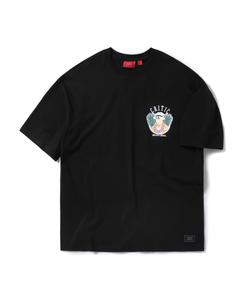 CHICKEN KILLER CIRCLE TEE (BLACK)_CTOEURS05UC6
