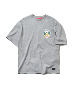 CHICKEN KILLER CIRCLE TEE (M/GRAY)_CTOEURS05UC4