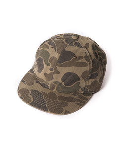MPP 6PANEL CAMO CAP (GREEN)