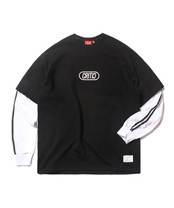 COMPETITION LAYERED LONG SLEEVES(BLACK)_CTOEARL03UC6