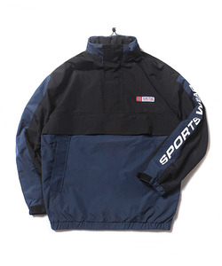 SAILING ANORAK JACKET(BLACK)_CTOEAJP01UC6
