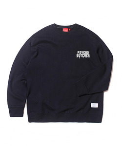 PSYCHO BUTCHER SWEAT SHIRT(NAVY)_CTOEACR04UN0