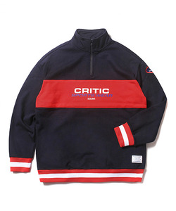 CSW HALF ZIP SWEAT SHIRT(NAVY)_CTOEACR05UN0