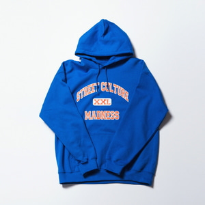 STREET CULTURE MADNESS HOODY BLUE