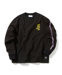 COOL KIDS LONG SLEEVE T-SHIRT(BLACK)_CTOGPRL05UC6