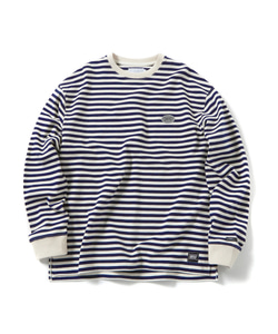 STRIPE LONG SLEEVE T-SHIRT(NAVY)_CTOGPRL09UN0