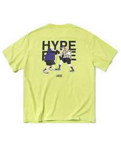 HYPE FIVE T-SHIRT(NEON YELLOW)_CTOGURS12UY3