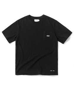 BASIC LOGO POCKET T-SHIRT(BLACK)_CTOGURS22UC6