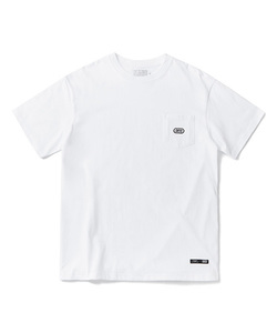 BASIC LOGO POCKET T-SHIRT(WHITE)_CTOGURS22UC2