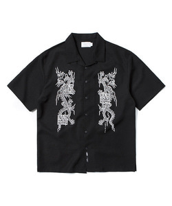 CHINA DRAGON SHIRT(BLACK)_CTOGUSS02UC6