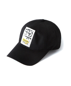 WASTED PLANET BALL CAP(BLACK)_CTOGUHW04UC6