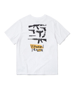 WASTED PLANET T-SHIRT(WHITE)_CTOGURS05UC2