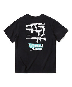 WASTED PLANET T-SHIRT(BLACK)_CTOGURS05UC6