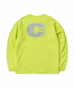 REFLECTIVE C LONG SLEEVE T-SHIRT(NEON YELLOW)_CTOGARL05UY3