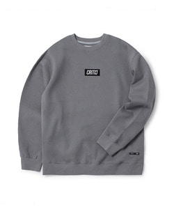 BOX LOGO SWEATSHIRT(COOL GRAY)_CTOGICR06UC3