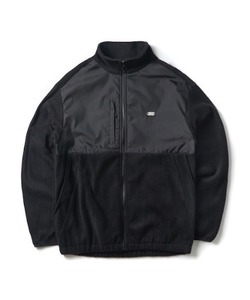 [2/7 예약 배송] FLEECE ZIP-UP JACKET(BLACK)_CTONPJK02UC6