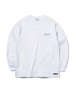 [1/25 예약 배송] OVAL LOGO LONG SLEEVE T-SHIRT(WHITE)_CTONPRL01UC2