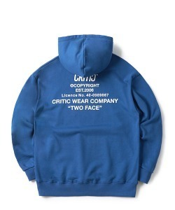 [1/25 예약 배송] BACKSIDE LOGO HOODIE(DARK BLUE)_CTONPHD01UB5