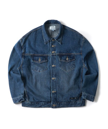 WASHED DENIM TRUCKER JACKET(INDIGO)_CTONPJK05UB1