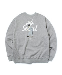 HIGH SEOUL CREWNECK(M/GRAY)_CTONPCR04UC4