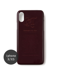 CRT MIDNIGHT MIX MOBILE CASE(BURGUNDY)_CRONUHC01UP3