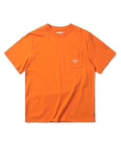 LOGO POCKET T-SHIRT(ORANGE)_CTONURS19UO0