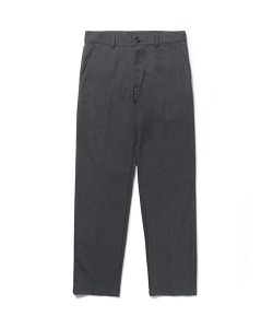 CRT LONG WIDE SLACKS(CHARCOAL)_CRONAPT01UC1