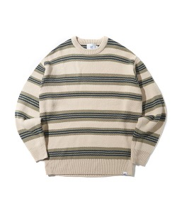 CRT STRIPE KNIT(CREAM)_CRONINT05UY5