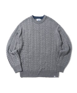 CRT CABLE KNIT(GRAY)_CRONINT03UC0
