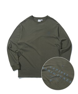 CRT LONG SLEEVE T-SHIRT(KHAKI)_CRONARL01UK0