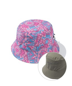 ETHNIC REVERSIBLE BUCKET HAT(RED)_CTTZPHW02UR0