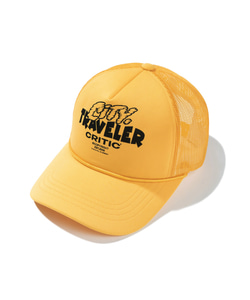TRAVELER MESH CAP(YELLOW)_CTTZPHW06UY0