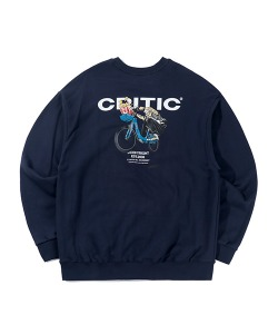 CHICKEN KILLER CITY BIKE SWEATSHIRT(NAVY)_CTTZPCR02UN0
