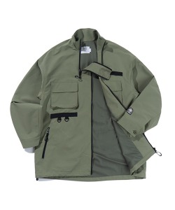 UTILITY 2-WAY JACKET(KHAKI)_CTTZPJK06UK0