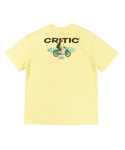 PSYCHO BUTCHER MOTOCYCLE T-SHIRT(LEMON YELLOW)_CTTZURS22UY1