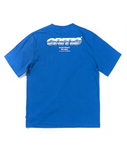SPLIT LOGO T-SHIRT(ROYAL BLUE)_CTTZURS03UB3