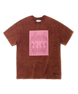 BIG 3 HEADS T-SHIRT(BURGUNDY)_CTTZURS30UP3