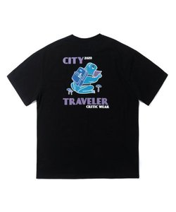 FROG CITY TRAVELER T-SHIRT(BLACK)_CTTZURS02UC6