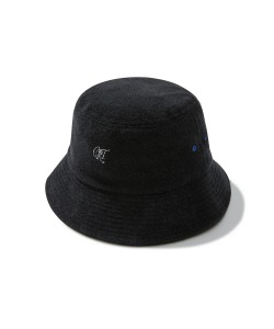 LOGO TOWEL BUCKET HAT(BLACK)_CRTZUHW03UC6