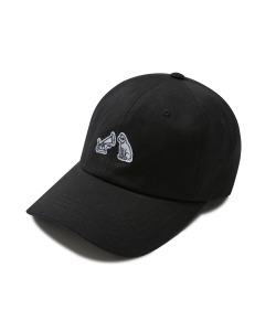 TURNTABLE DOG BALL CAP(BLACK)_CRTZUHW01UC6
